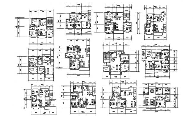 House Drawing Layout Plan In DWG File