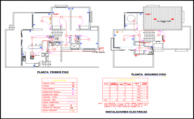 Electrical Layout plan