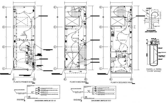 House Electrical Wiring Plan