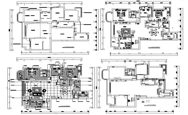 House Floor Plan AutoCAD File