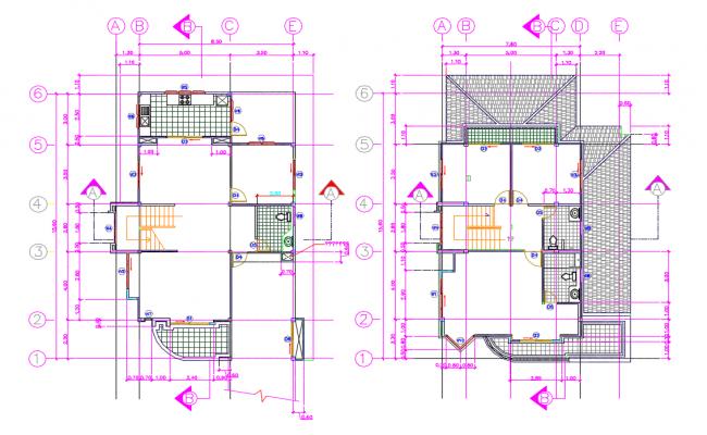House Floor Plan Drawing