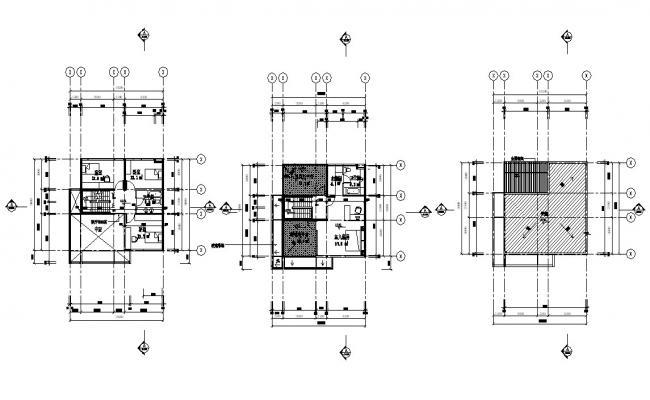 House Floor Plans Autocad File Download