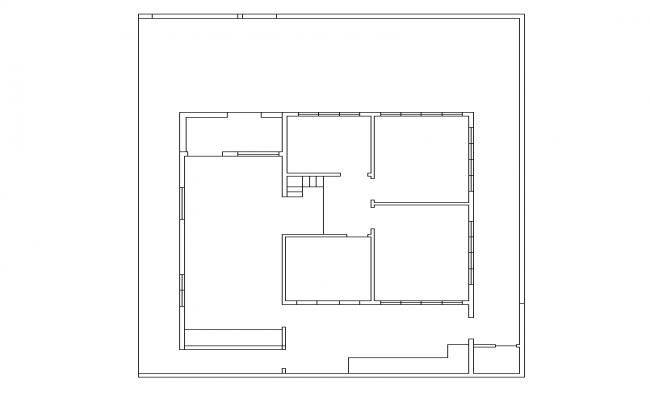 House Floor plan detail