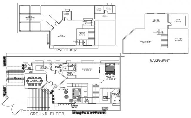 House Layout Plan