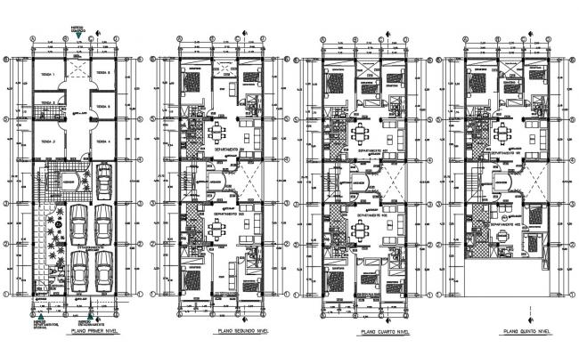 House Layout Plan CAD Drawing