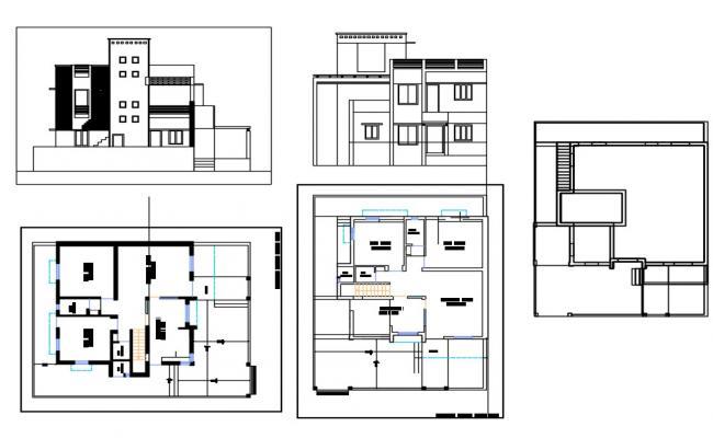 House Plan Cad Design