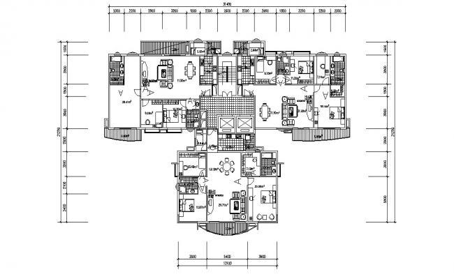 House Plan Dwg File