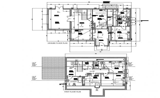 House Plans With Furniture Layout