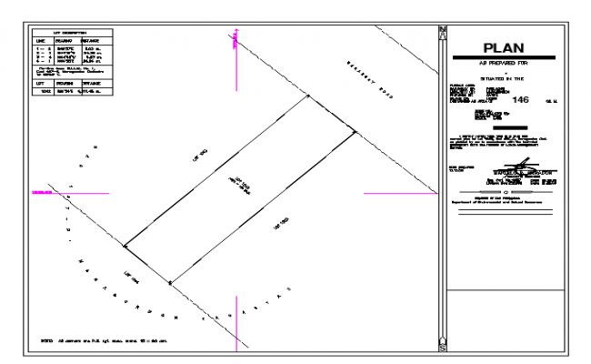 House Plot Lay-out