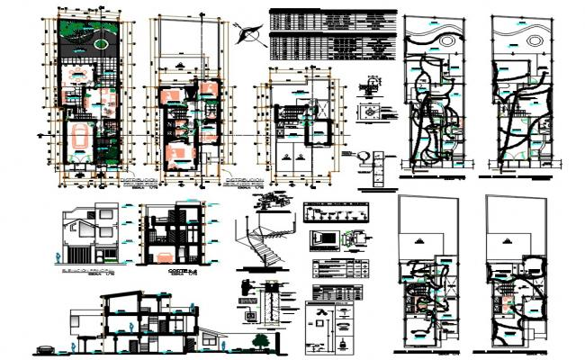 House Project AutoCAD File