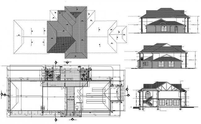 House Project Cad File