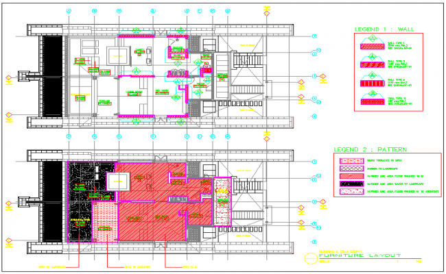 House Project dwg file