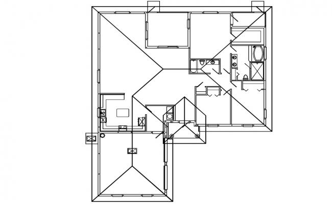 House Roof Framing Design Plan