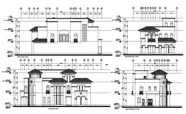 House View Design CAD File