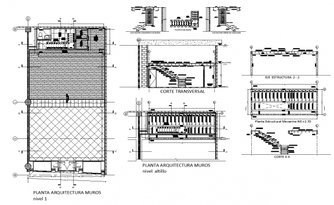 House architect plan design detail dwg file