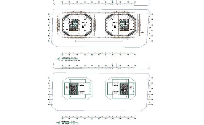 House building plan detail