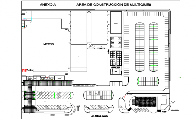 House culture metro rail detail dwg file