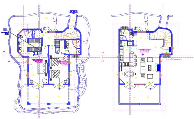 House design AutoCAD drawing