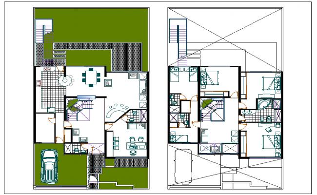 House design for duplex