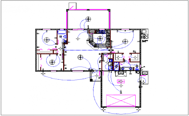 Electrical Plan House Dwg Online Manuual Of Wiring Diagram