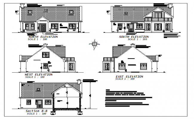 House elevation detail