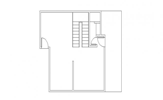 House general floor layout plan details dwg file