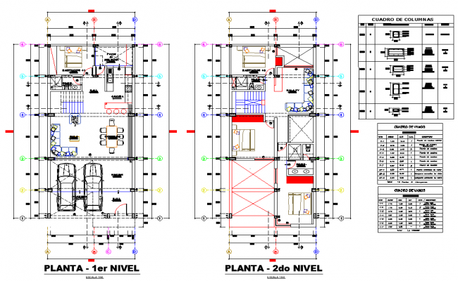 House map plan autocad file