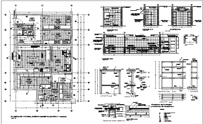 House plan and toilet elevation working plan detail dwg file