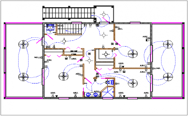 electrical plan dwg wiring diagramhouse plan layout and electric plan layout view detail dwg file