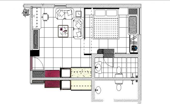 House Furniture Design In AutoCAD File