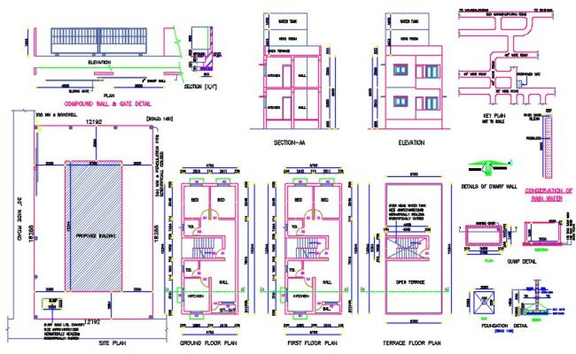House planning details
