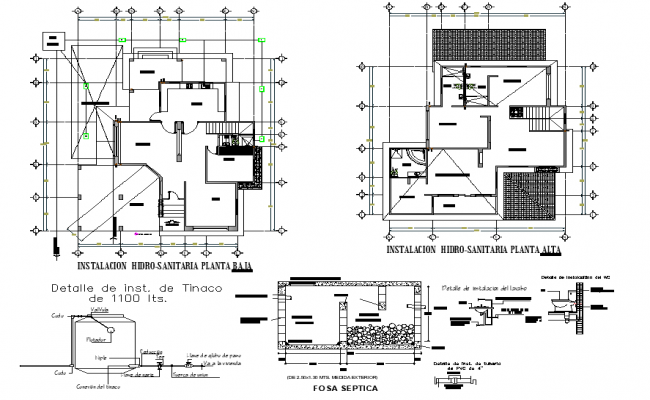 House room residential layout file