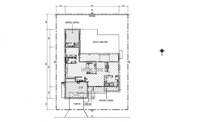 Download Free House Site Plan In DWG File