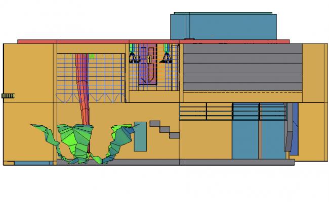 Housing 3 d Oscar detail dwg file
