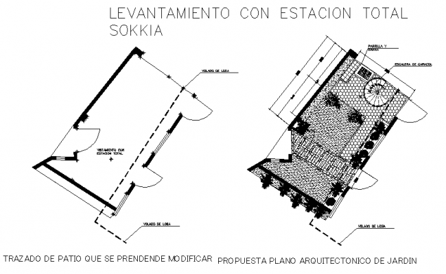 Housing layout plan dwg file