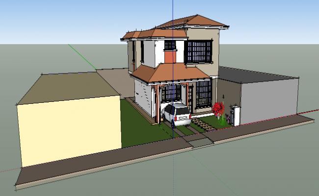 Housing project 3D