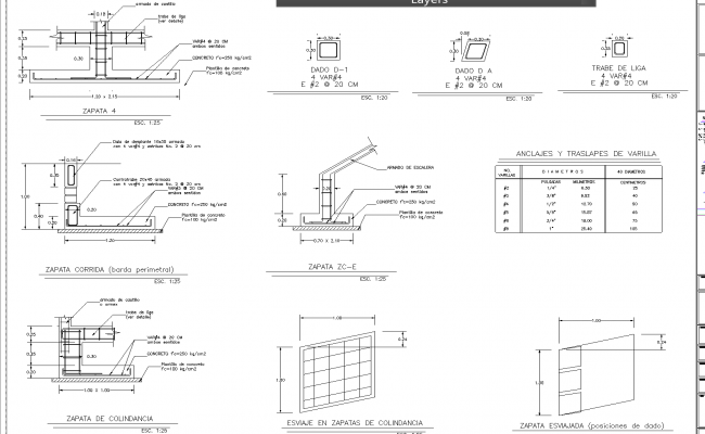 Housing split level  plan dwg detail.,