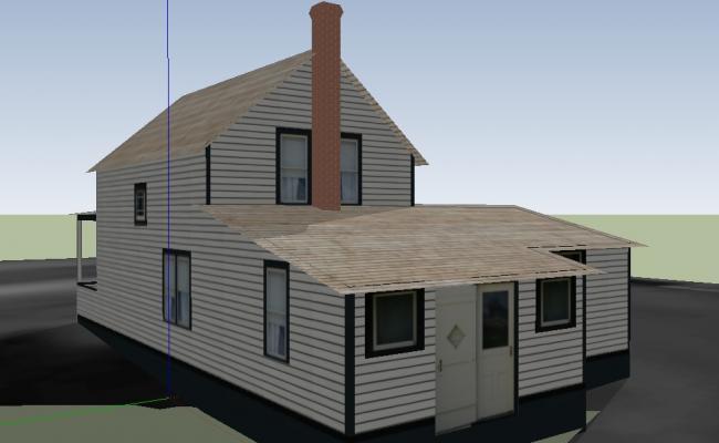 Hut Shaped Residence