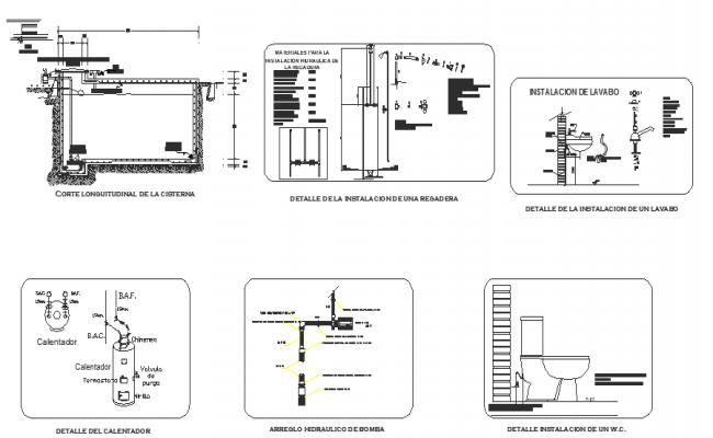 Hydraulic installations
