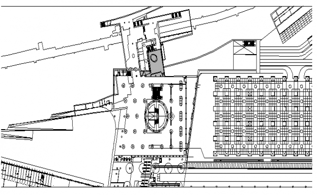 Industrial Layout dwg file