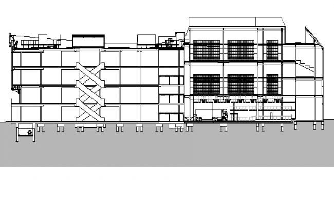 Industrial Plant dwg file