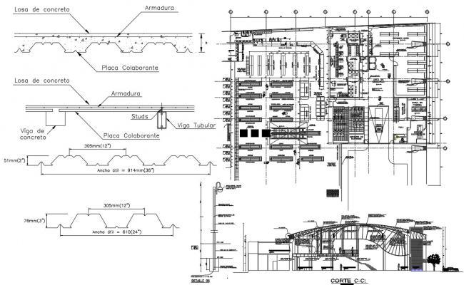 Industrial Warehouse Design CAD File