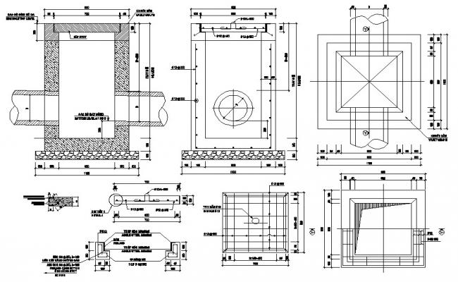 Inspection Chamber Plan DWG File