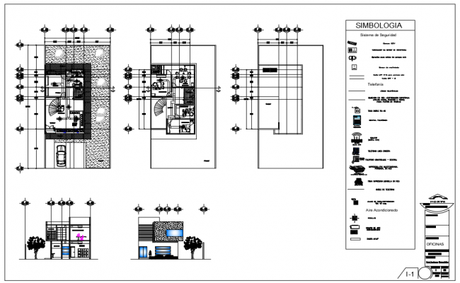 Installation plan offices