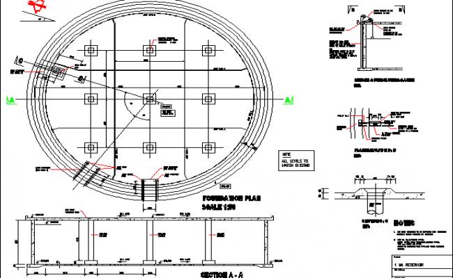 Installation unit detail plan