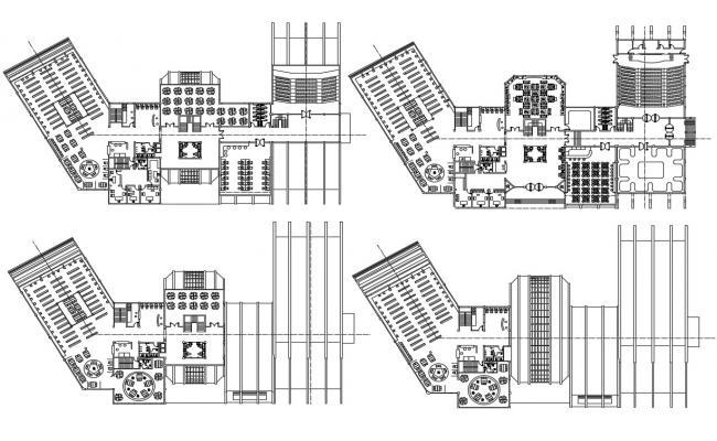 Institute Floor Plan AutoCAD File