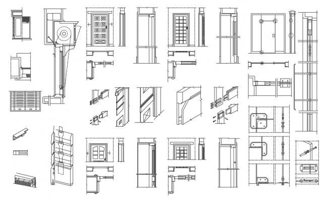 Interior Door Installation DWG File