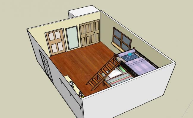 Interiors of a Children's' Bedroom