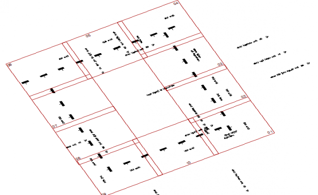 Irrigation key map details of airport dwg file