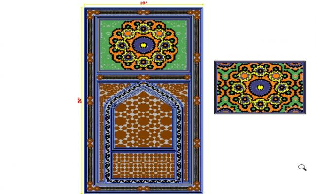 Islamic motifs design